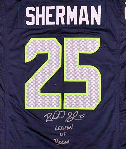 best loved af46b 4427b sherman jersey