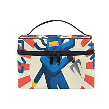Amazon.com : Traditional Ninja Warrior Portable Cosmetic ...