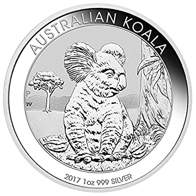 2017 AU Australia Silver Koala (1 oz) $1 Brilliant Uncirculated Perth Mint