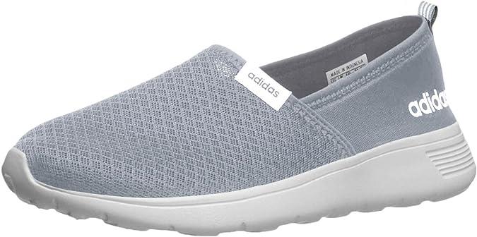 adidas Womens Neo Lite Racer Slip On Sneakers ... - Amazon.com