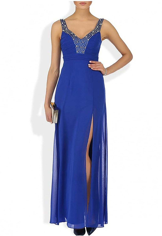 Lipsy VIP Diamante Bead Embellished Bust Maxi Dress