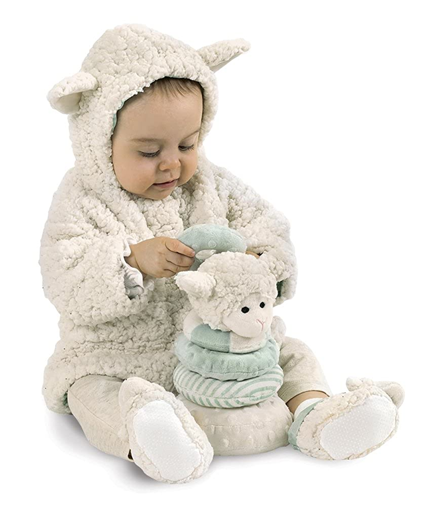 afeac07a637d Bearington Baby Lamby White Lamb Hooded Coat