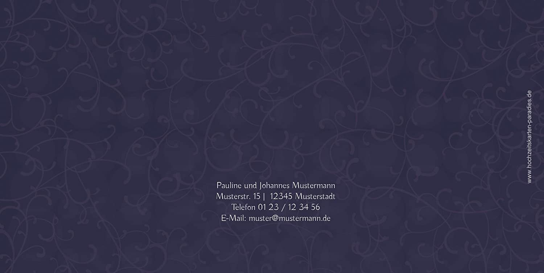 Kartenparadies Danksagung für Hochzeitsgeschenke Dankeskarte Für Für Für immer, hochwertige Danksagungskarte Hochzeitsglückwünsche inklusive Umschläge   20 Karten - (Format  215x105 mm) Farbe  MatschgruenDunkel B01N5RUVXN | Online-Shop   630033