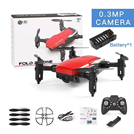 Faironly SG800 Mini Dron con cámara, H?He, con cámara HD, WiFi ...