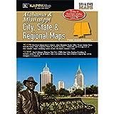 Alabama & Mississippi City, State, & Regional Maps