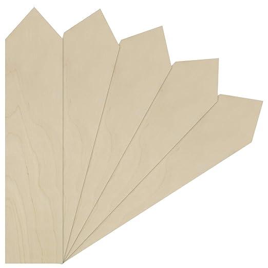 25 unidades, 25 mm, 2,5 cm LaserKris Estrellas de madera para manualidades