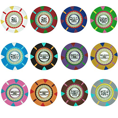 Claysmith Sample Pack The Mint 13.5 Gram Poker Chips
