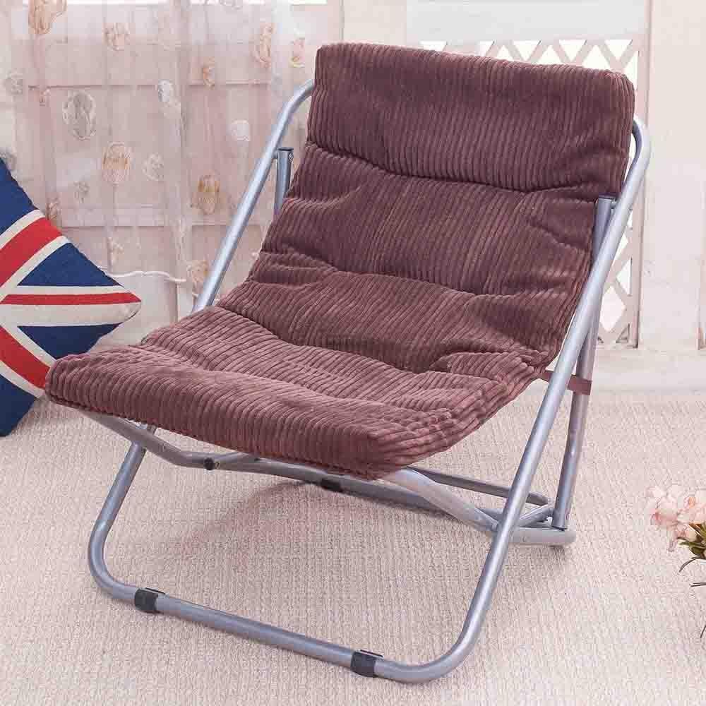 RENJUN Sedia Pieghevole da Spiaggia per Sedie A Sdraio Folding Chair (colore   Coffee Colore)