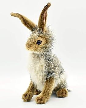 """Hansa Plush - 10"""" Blacktail Jack Rabbit (japan ..."""