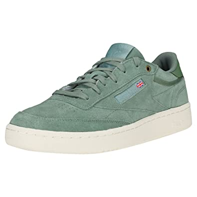 892ac2ddfb8491 Reebok Club C 85 MCC Mens Trainers  Amazon.co.uk  Shoes   Bags