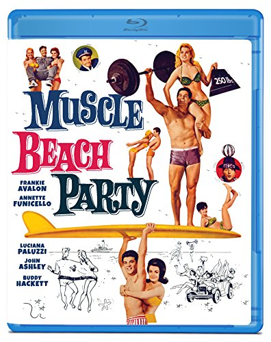 Muscle Beach Party [Blu-ray]