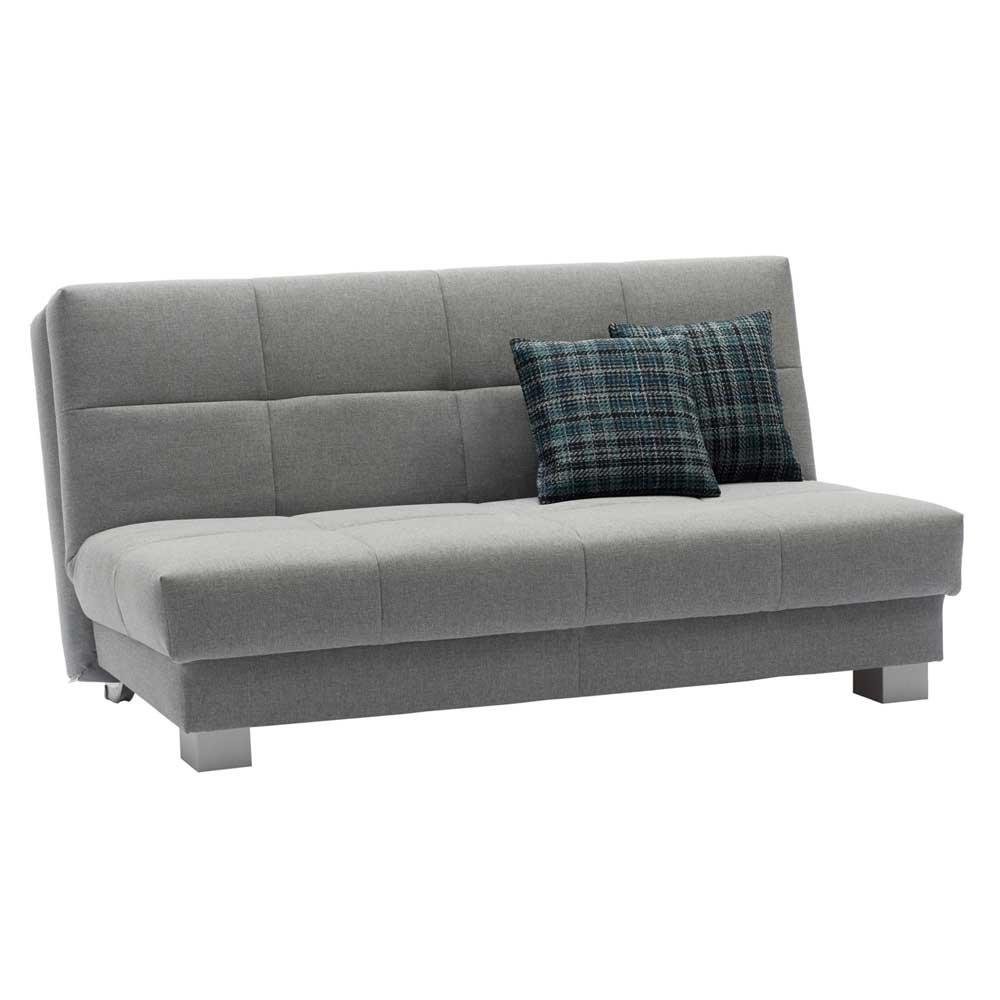 Cama longue sofá gris Lara Pharao24, tela, 001: 125; 2 ...