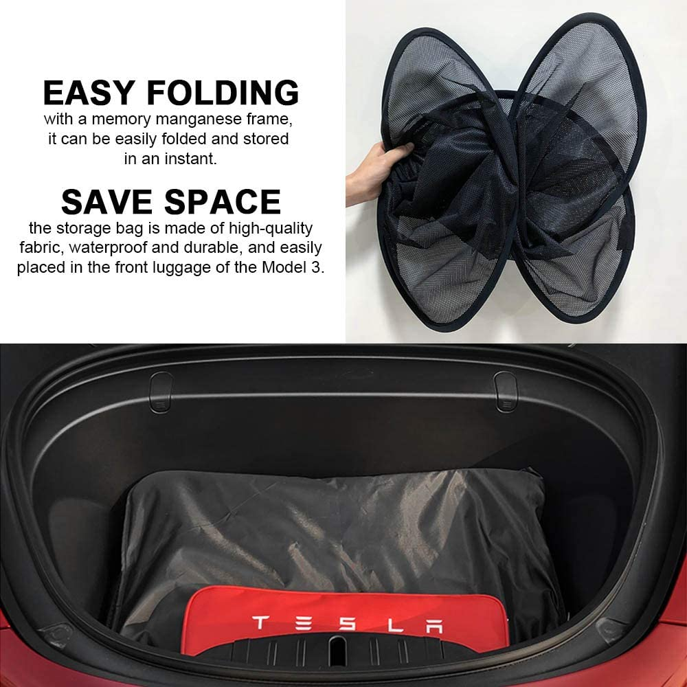 2 of Set Dasbecan Model 3 Sunshade Sunroof Cover Compatible for Tesla Model 3 Car Glass Roof Front Rear Window Sun Shade