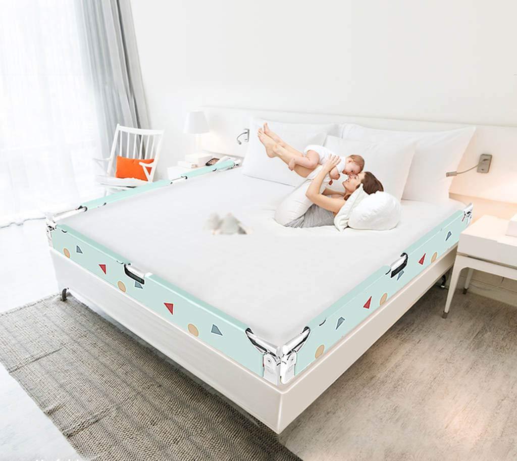 Falten Sie Zaun, Indoor Indoor Indoor Baby Bett Schutzzaun Multifunktions Spalte Soft Kinderzimmer Leitplanke, 1,5-2 Mt B07JL18MCD Firstzelte Der neueste Stil 68a964