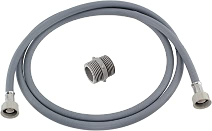2.5M SPARES2GO Water Fill Pipe /& Drain Hose Extension Kit for Miele Washing Machine