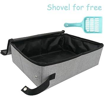 Amazon.com: Petleader - Caja de arena plegable portátil para ...