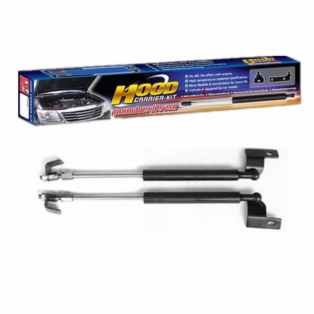 Hood ÊFront Bonnet Damper Gas Strut Shock Up Lift Lifter - Isuzu D-Max 2005-2012 0.5kg Black