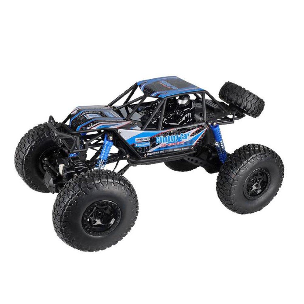 XQ スーパースポーツユーティリティ車RC車オフロード四輪駆動2.4Ghz 4WD高速1:10ラジオリモートコントロールバギー強力な馬力多地面フリークライミング ( 色 : 青 ) B07BYVTDGM 青 青