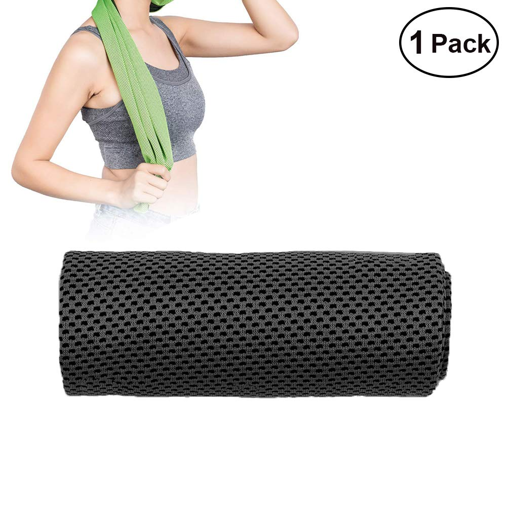 W-ShiG 2 Pack Cooling Towel,Super Absorbent Cooling Towel for Sports,Workout,Fitness,Gym,Yoga,Pilates,Travel,Camping