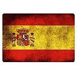 ACD&TV slip mat Flag of Spain Designs Doormat Bathroom Kitchen Floor Mats