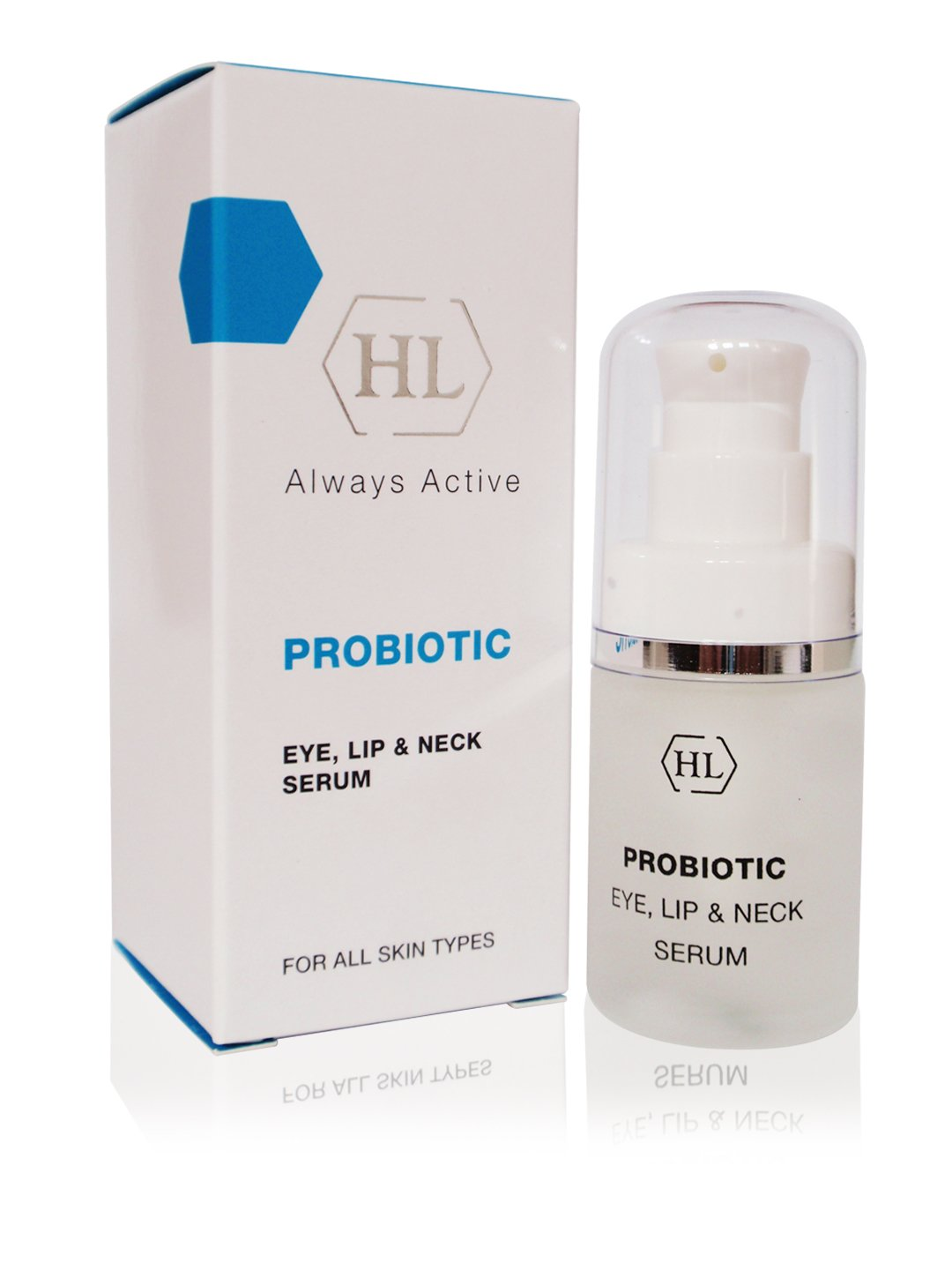Holy Land Probiotic Eye, Lips & Neck Serum 20ml 0.7fl.oz