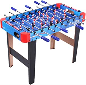 Futbolines Recuerdos De Juguete De Mesa Fútbol Máquina De Escritorio Boy Adult Entertainment Doble De Madera For Niños (Color : Blue, Size : 90 * 46 * 66cm): Amazon.es: Hogar