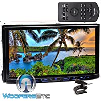 Pioneer AVH-X490BS In-Dash 2-DIN 7 Touchscreen DVD Receiver with Bluetooth and XO Vision HTC36 Backup Camera with Nightvision