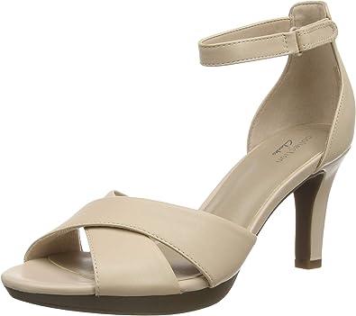 Nominación político Molesto  Clarks Adriel Cove, Zapatos con Tacon y Correa de Tobillo Mujer: Amazon.es:  Zapatos y complementos