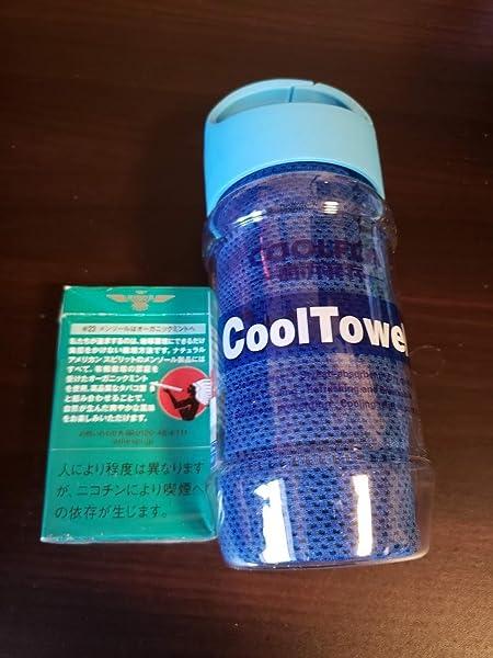 Greatever-カンタンに暑中症対策-超冷感タオル-極冷iceタオル-ボトル携帯-持ち運び大便利-UVカット-運動会-スポーツ-アウトドア-夏フェス-炎天下作業など-6色展開