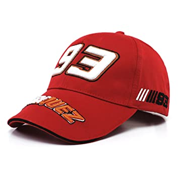 d85ed75c0ba Buy Baseball Cap Moto GP Racing Marc Marquez 93 Spider Casual Sports - Red  Color Online at Low Prices in India - Amazon.in