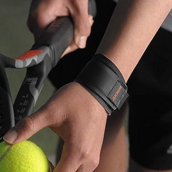 Aider - Muñequera, agarre maestro para tendinitis y deportes de cohete como bádminton, tenis, tenis de mesa, Left: Amazon.es: Salud y cuidado personal