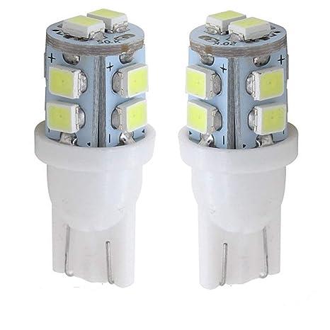 Luces LED 501 laterales, 12 V, 5 W, Pack de 2