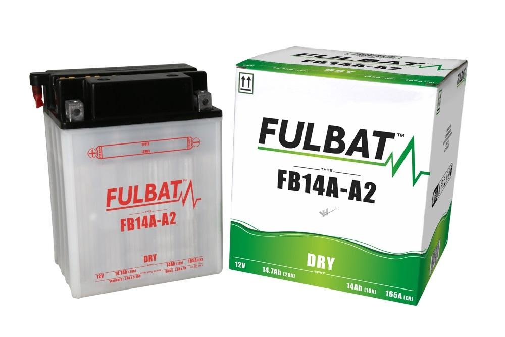 Polaris Sportsman 500 HO, HO Forest, fb14 a-A2 din51492 Dry Fulbat Batterie avec acide Pack fb14a-A2din51492Dry Fulbat Batterie avec acide Pack