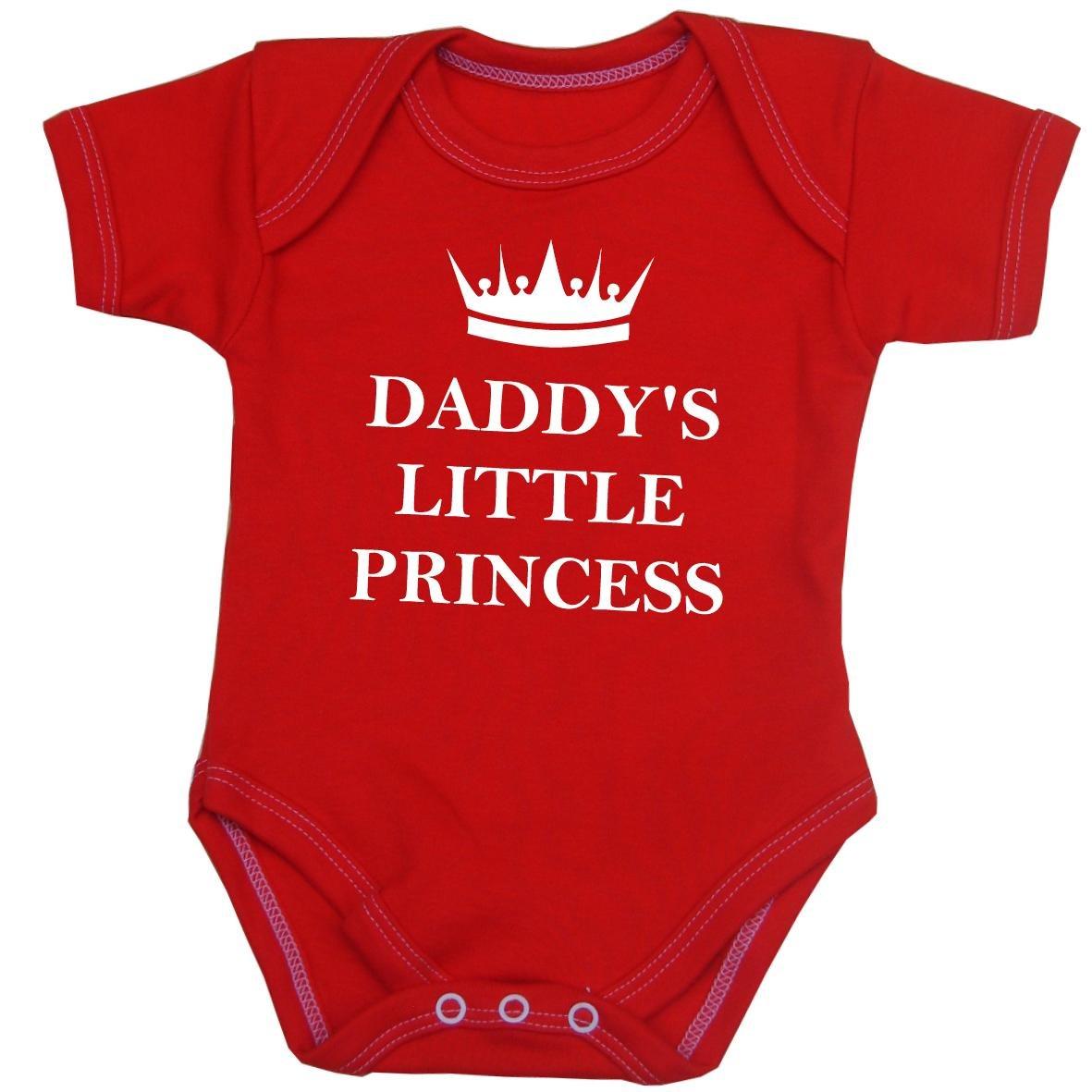 de15129f3 Babyprem Baby  Daddy s Little Princess  Clothes Bodysuit Vest ...