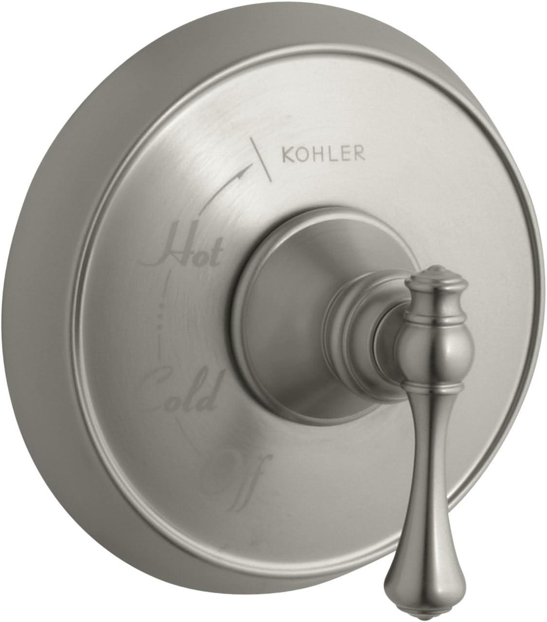 Kohler K T16117 4a Bn Revival Rite Temp Pressure Balancing Valve Trim Vibrant Brushed Nickel Tools Home Improvement Amazon Canada