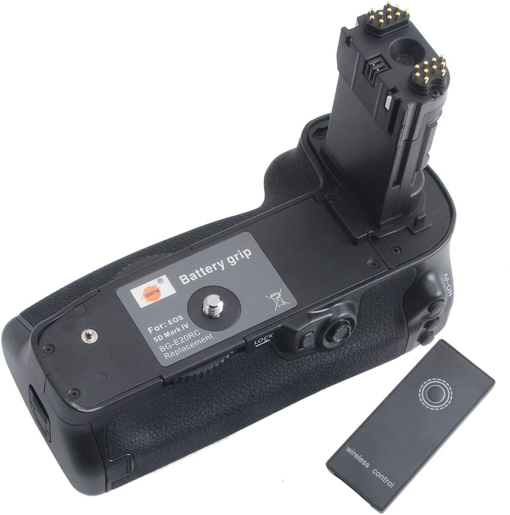 DSTE - Soporte de Batería Vertical para Cámara Réflex Digital ...