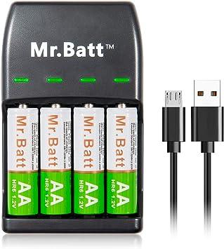 Amazon.com: Cargador de batería USB: Health & Personal Care