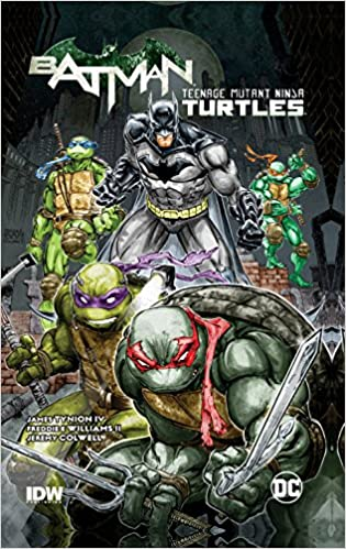 Batman Teenage Mutant Ninja Turtles HC: Amazon.es: James ...