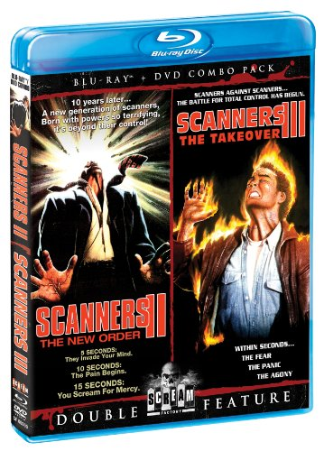 Scanners II: New Order / Scanners III: Take Over [Blu-ray] [Import]