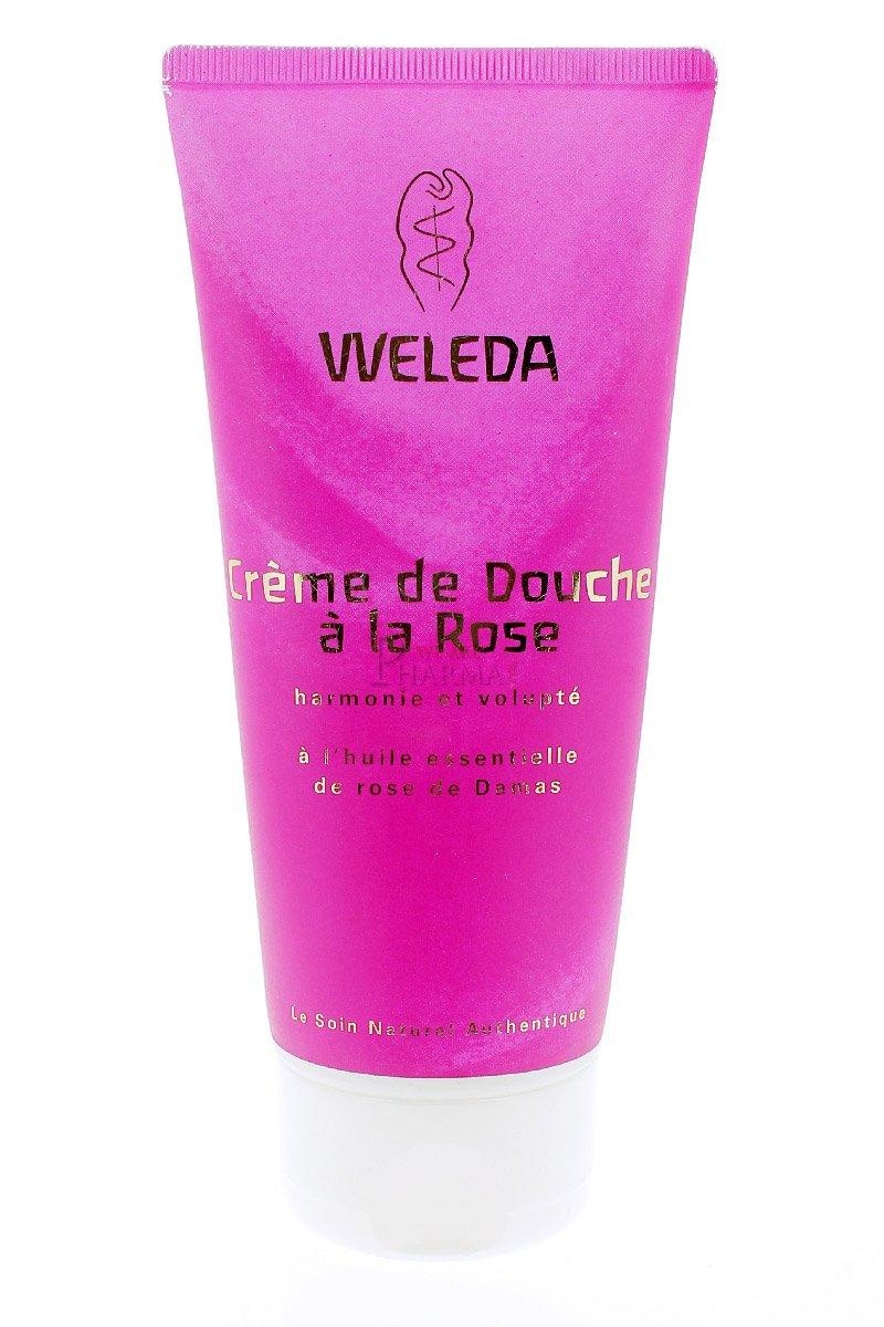 Weleda Crème Douche Rose 200 ml 4577A