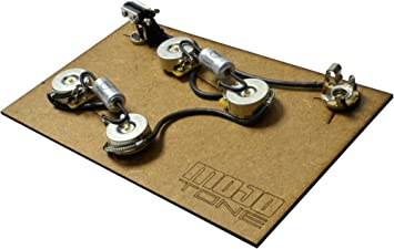 amazon com mojotone pre wired es 335 style wiring kit musical rh amazon com es 335 wiring harness uk Wiring a 335 Push Pull