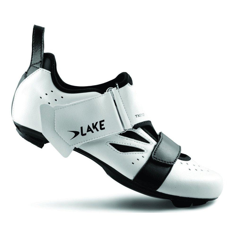 Lake Triathlon Schuhe TX213, weiß schwarz