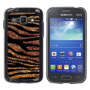TaiTech / Hard Protective Case Cover - Lines Glitter Zebra Fur Animal - Samsung Galaxy Ace 3 GT-S7270 GT-S7275 GT-S7272 by ruishername