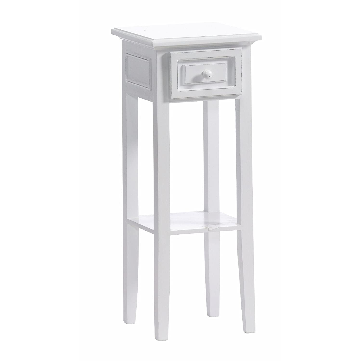 Delightful DESIGN TELEPHONE TABLE COUNTRY SIDE STYLE With Drawer White Washed From  Xtradefacotry: Amazon.co.uk: Kitchen U0026 Home