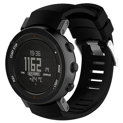 Para Suunto Core Alu elegante reloj banda de repuesto Y56 nueva moda inteligente deportes pulsera de