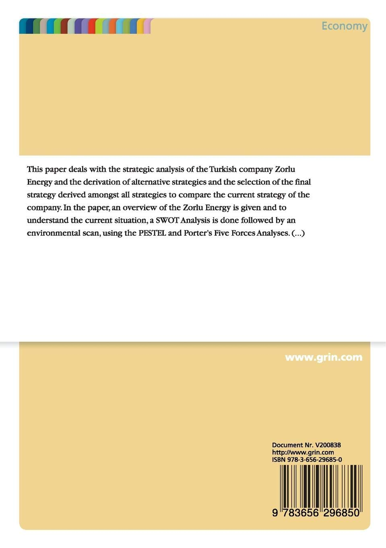 Get PDF Strategic Analysis of Turkish Company Zorlu Energy