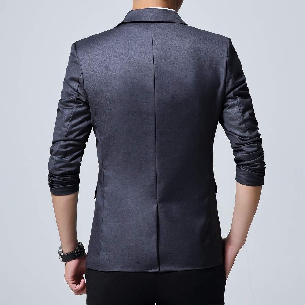 KIWEN Mens Lightweight Slim Fit Casual Wear Suit Blazer Jackets