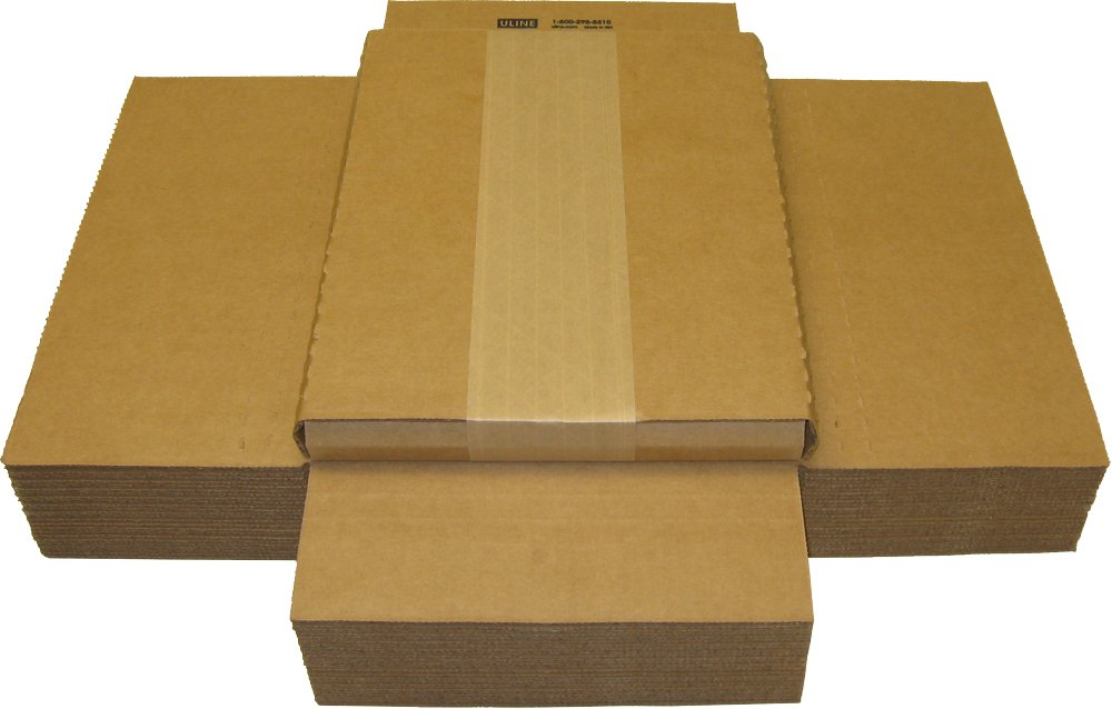 (25) Cardboard Magazine/Comic Boxes - 1'' Variable Depth - MABC01VD