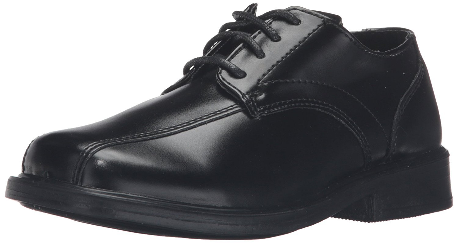 Deer Stags Gabe Lace-Up Dress Shoe (Toddler/Little Kid/Big Kid),Black,5.5 M US Toddler