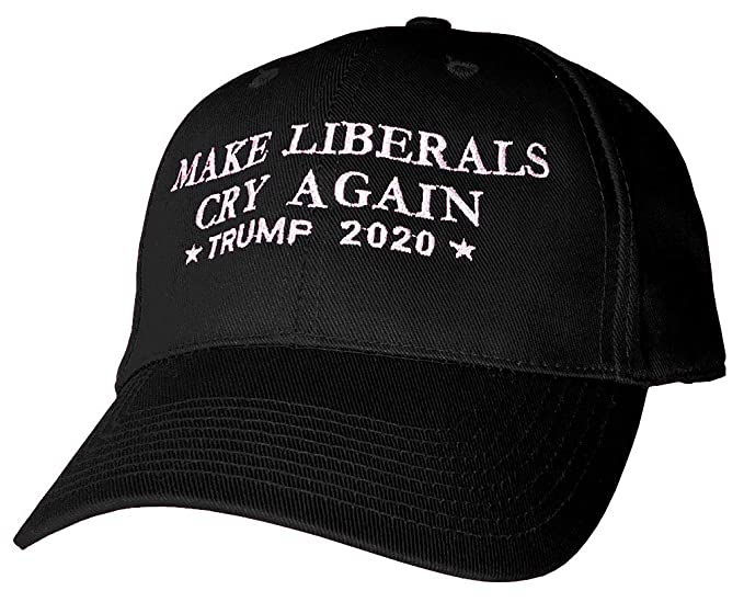 1a47b4f4 The Goozler Make Liberals CRY Again - Trump 2020 - Embroidered Cotton Hat (6  Panel